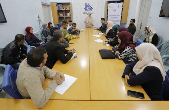 بيت الصحافة يعقد جلسة تقييم وتحديد احتياجات
