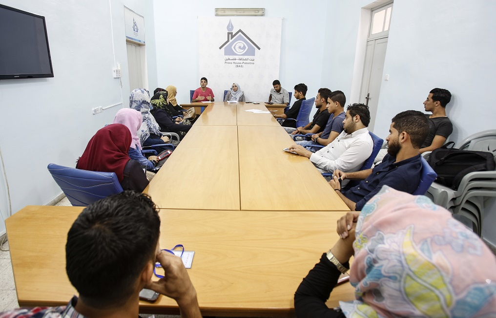 بيت الصحافة تستضيف ندوة حول دور الإعلاميين في دعم القضية الفلسطينية