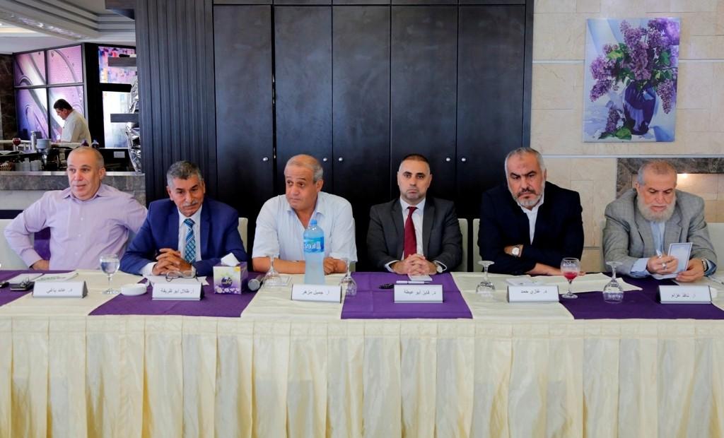 بيت الصحافة ينظم حلقة نقاش مع ممثلي فصائل وكُتّاب حول الانتخابات الفلسطينية