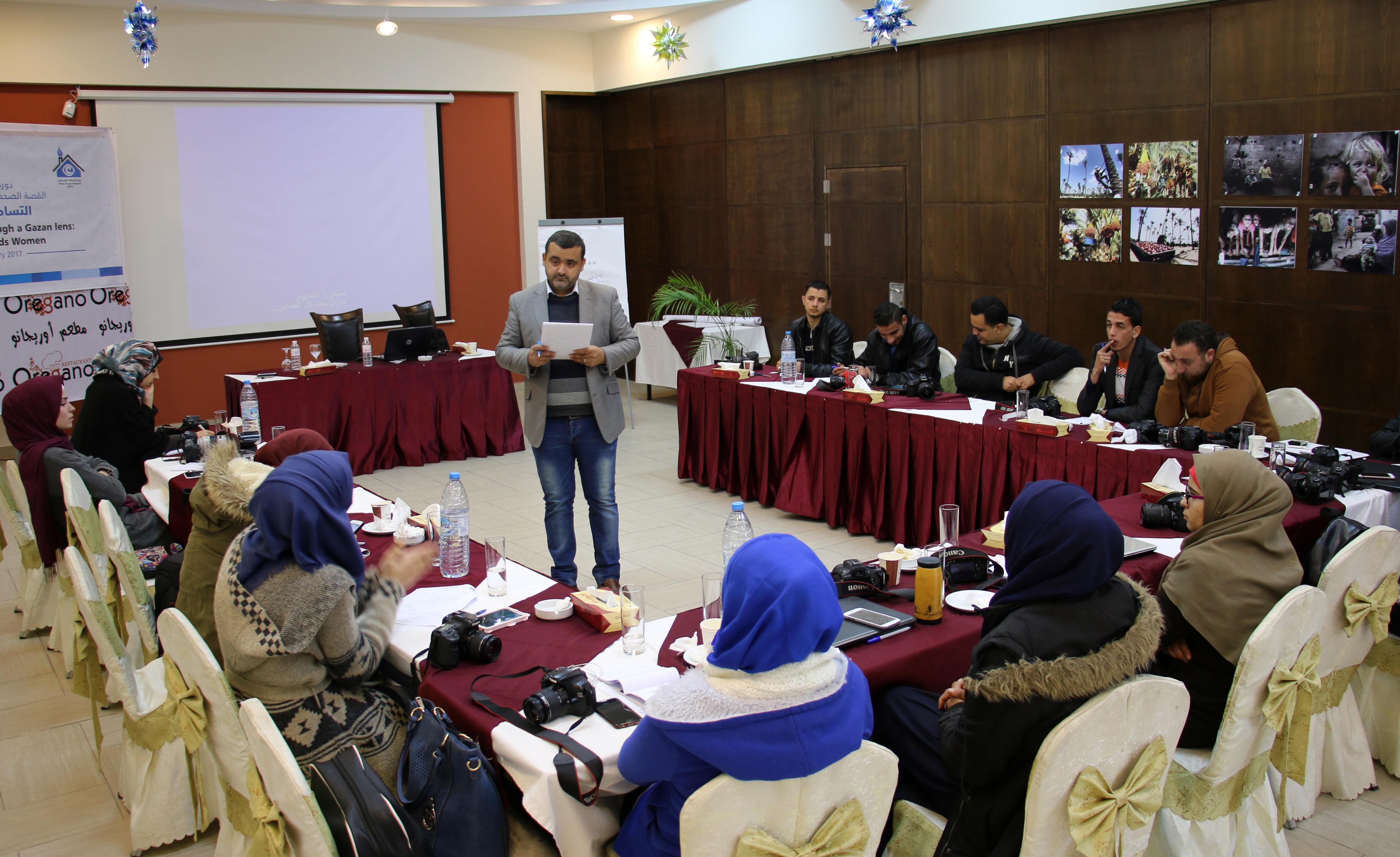 بتمويل هولندي.. بيت الصحافة يختتم دورة تدريبية بعنوان القصة الصحفية المصورة