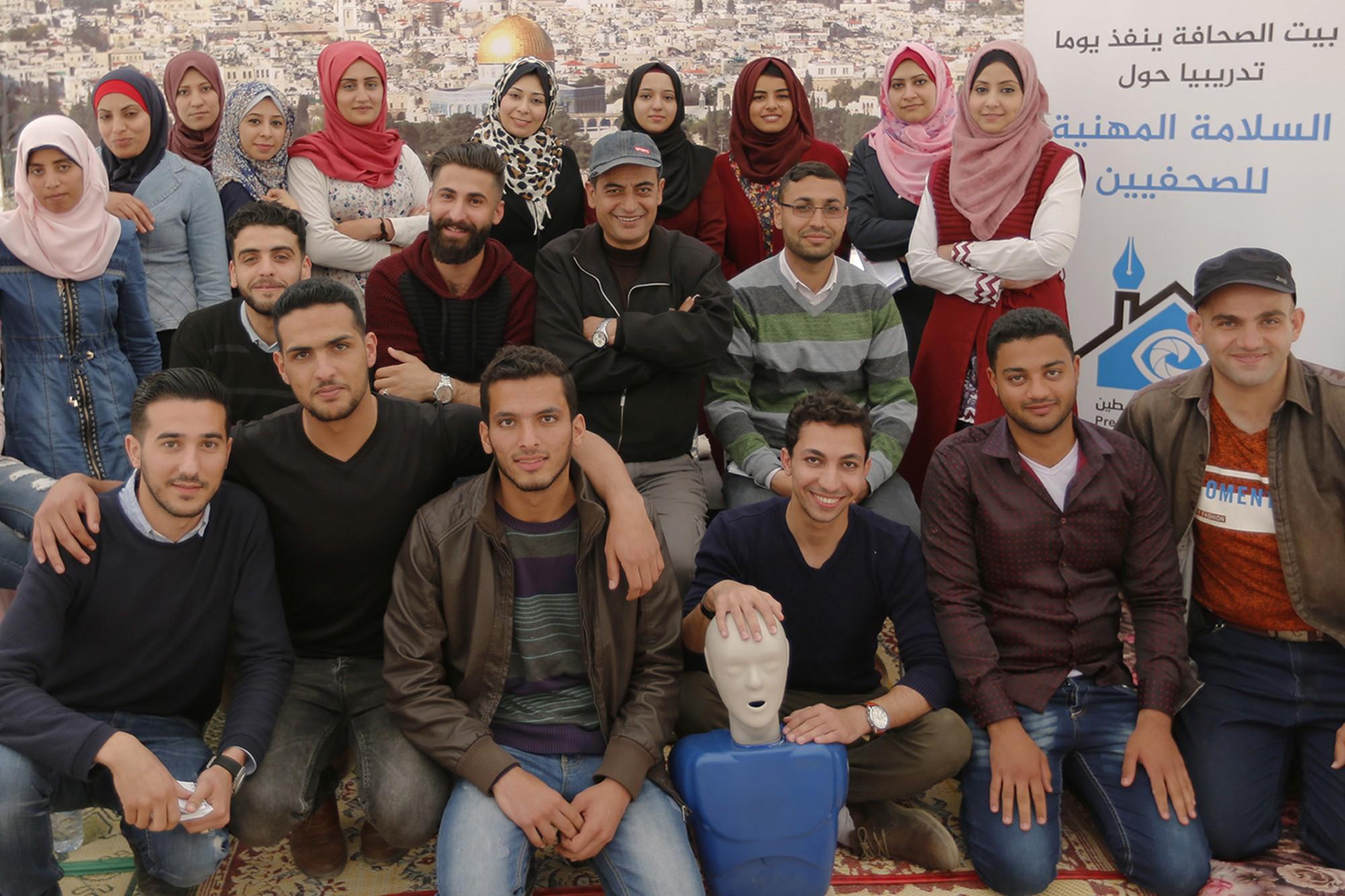 بيت الصحافة ينفذ مبادرة إعلامية في السلامة المهنية