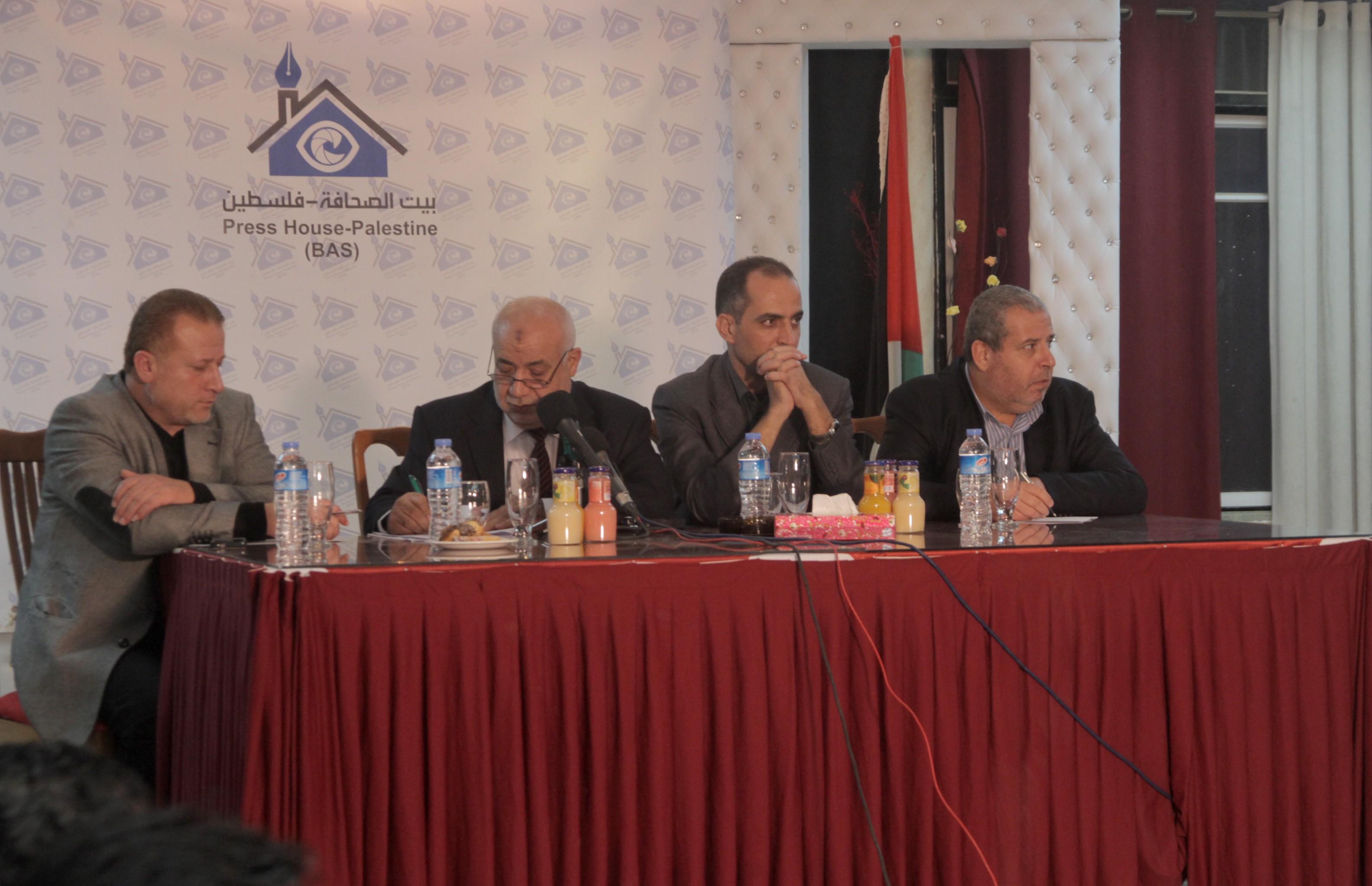 مؤسسة بيت الصحافة تنظم لقاءاً مفتوحا للصحفيين مع النائب العام بغزة