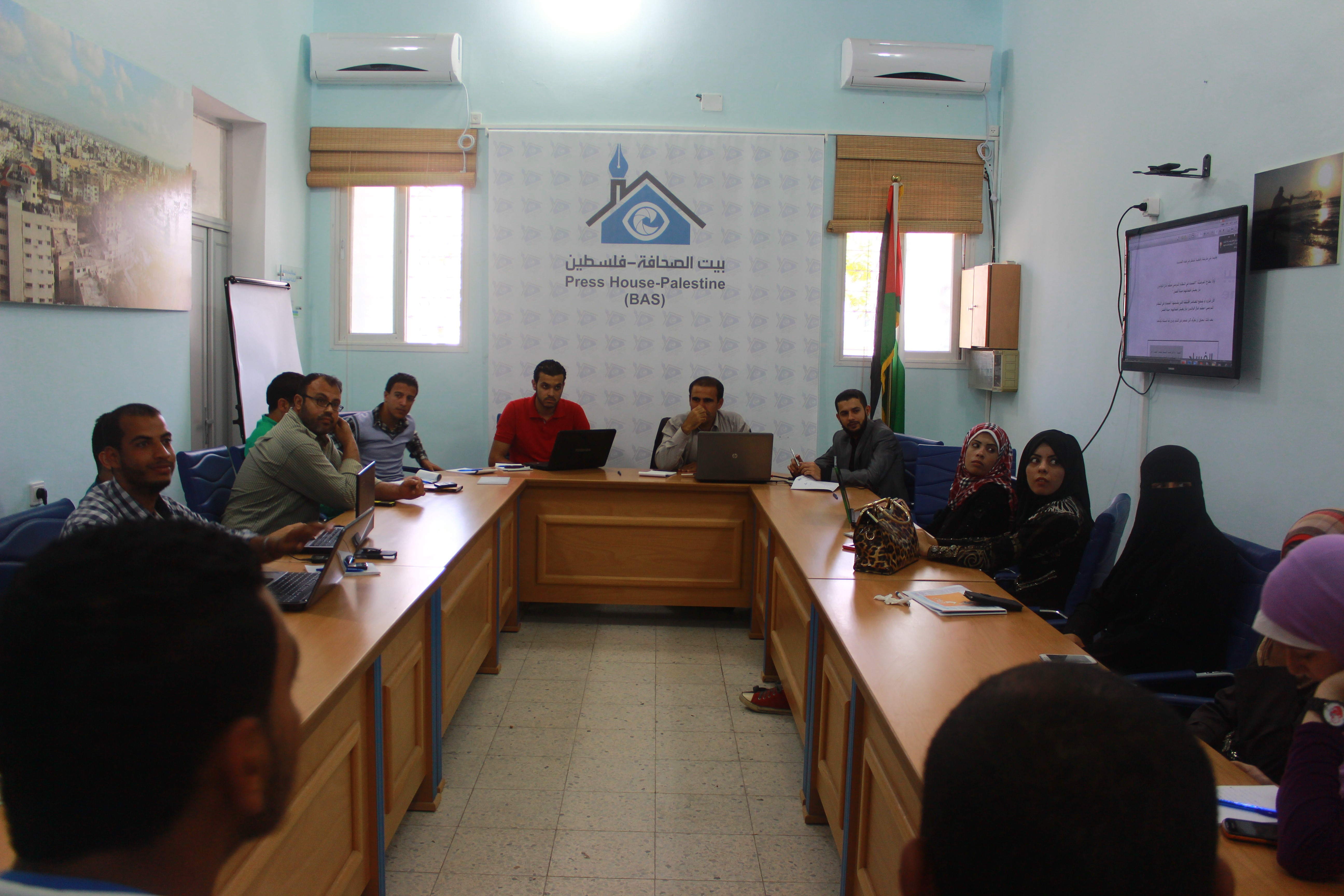 غزة: بيت الصحافة تختتم دورة في التحقيق الصحفي الاستقصائي
