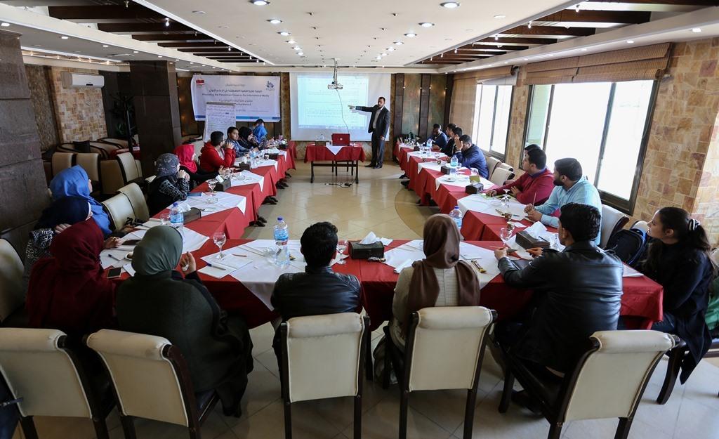 بيت الصحافة يختتم دورة تدريبية حول 'كيفية تعزيز القضية الفلسطينية في الإعلام الدولي'
