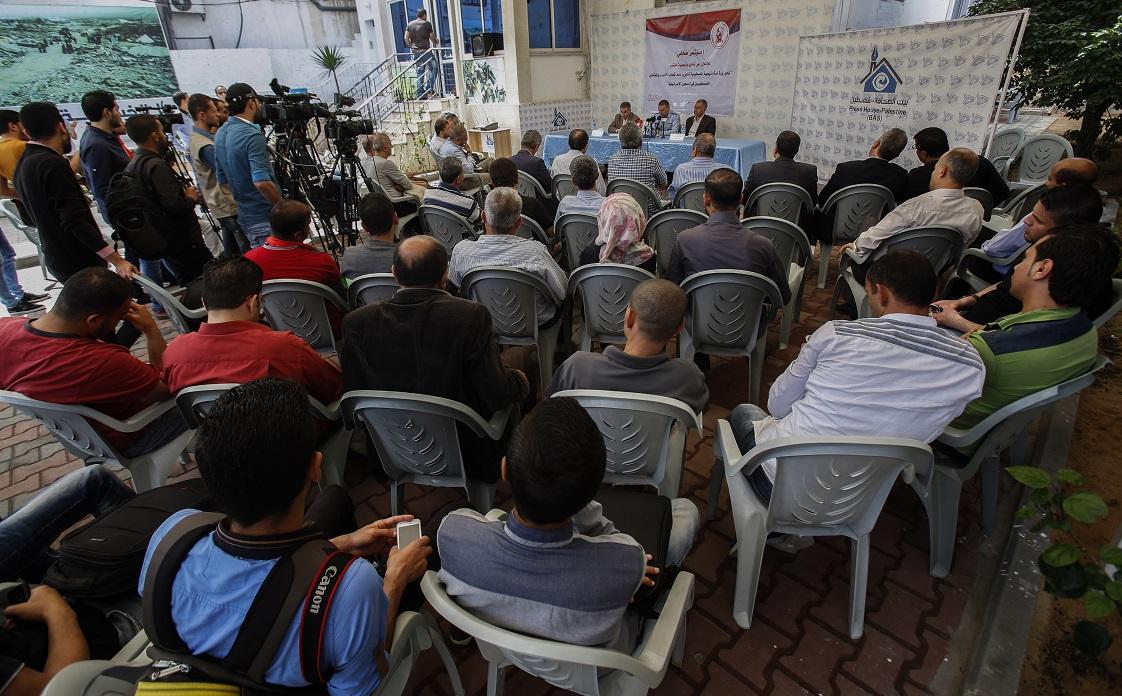 بيت الصحافة تستضيف مؤتمراً صحفياً لإعلان توصيات مؤتمر مختص بالأسرى
