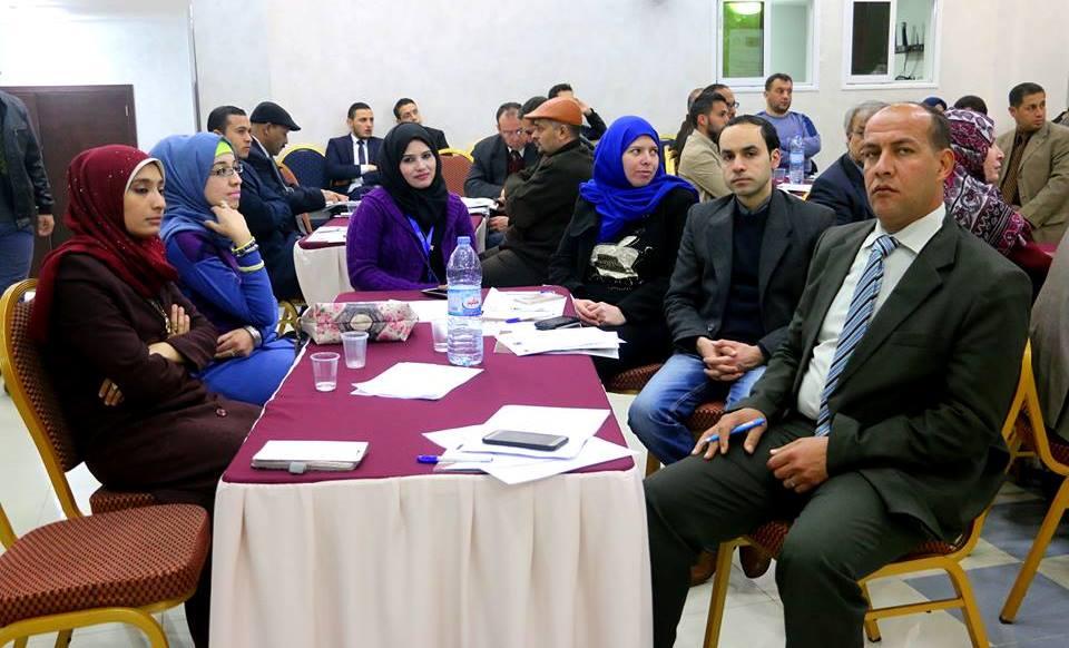 بيت الصحافة يشارك بمؤتمر تمكين المدافعين عن حقوق الانسان وسبل حمايتهم