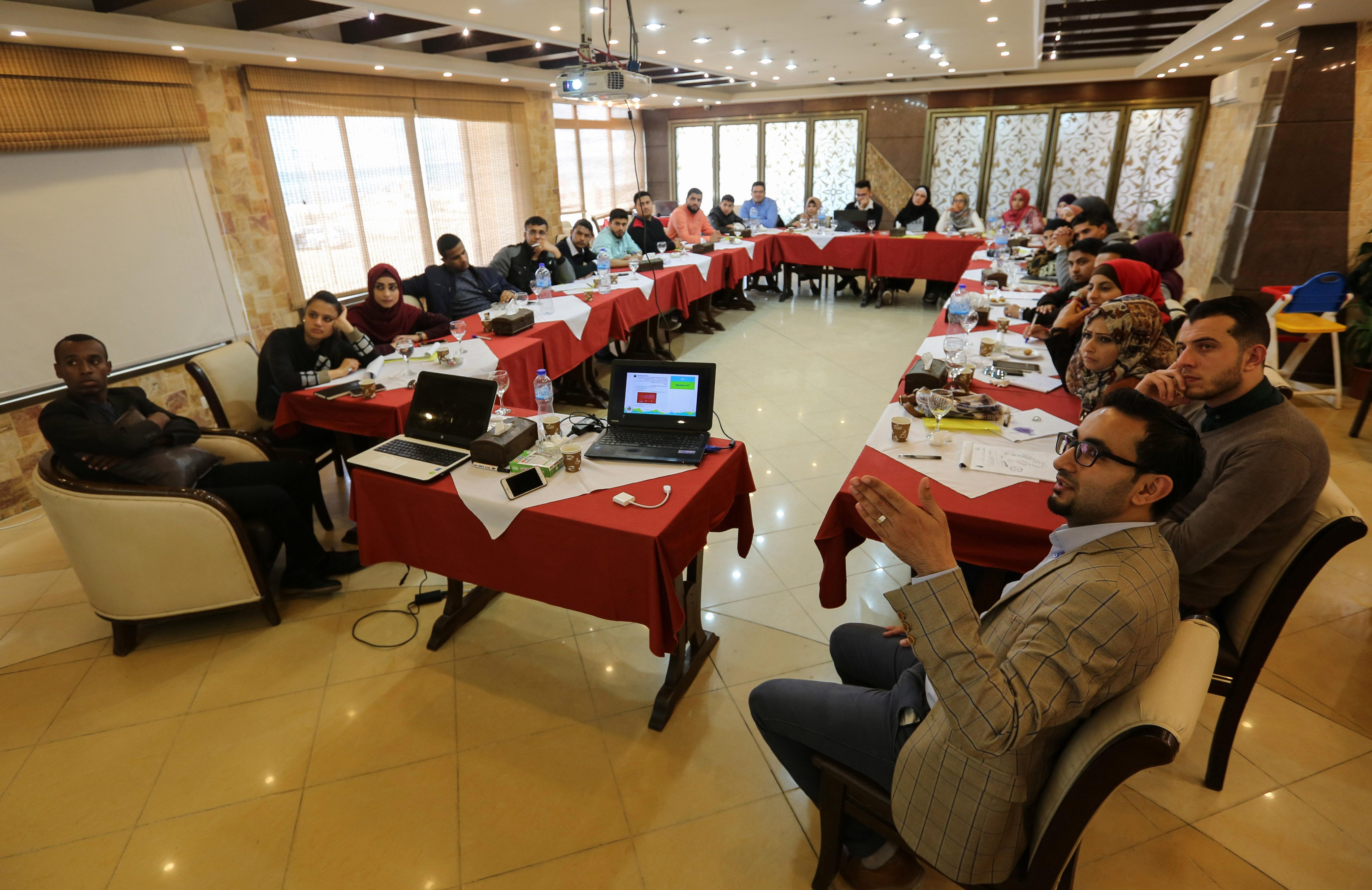 بيت الصحافة يختتم دورة تدريبية حول 'تعزيز الإعلام الموضوعي باستخدام وسائل التواصل الاجتماعي'