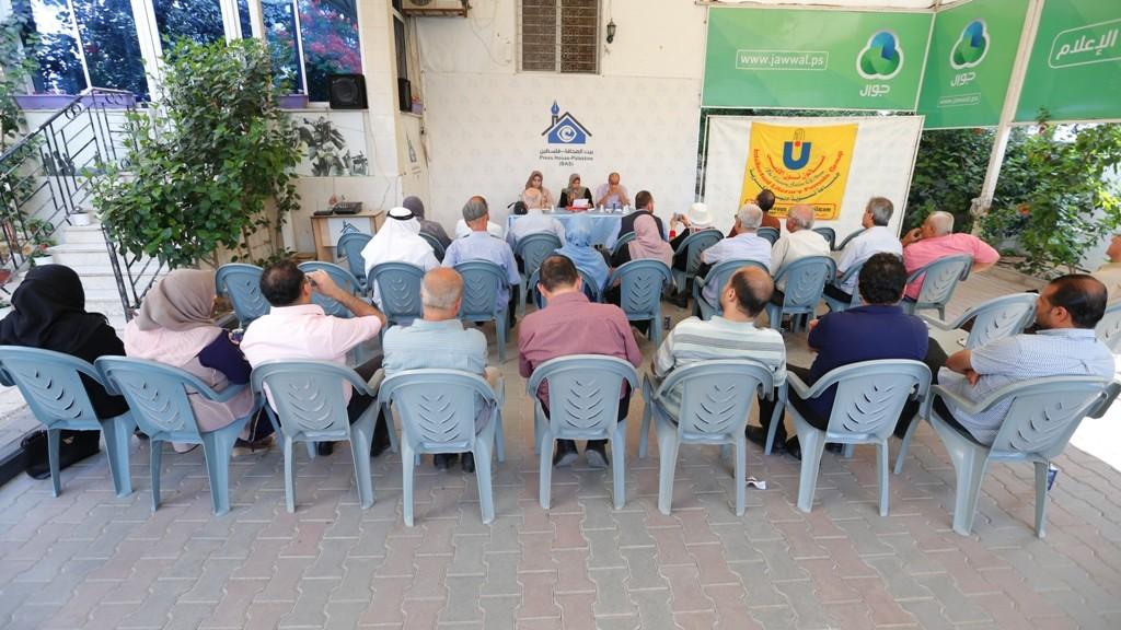 صالون نون ينظم لقاء أدبيًا في مقر بيت الصحافة بغزة