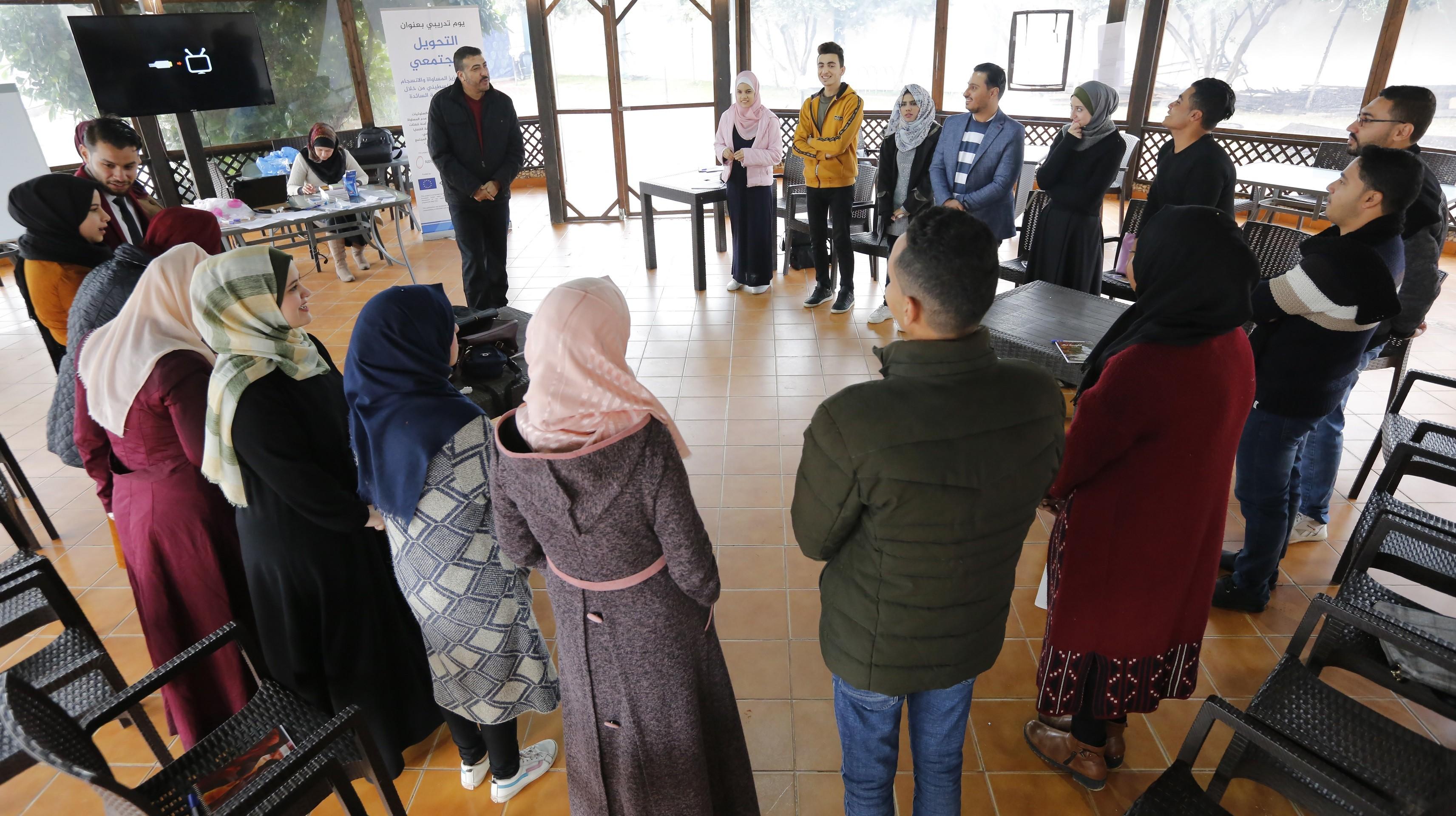 بيت الصحافة بالشراكة مع مؤسسة REFORM تنفذان يومًا تدريبيًا بعنوان التحويل المجتمعي