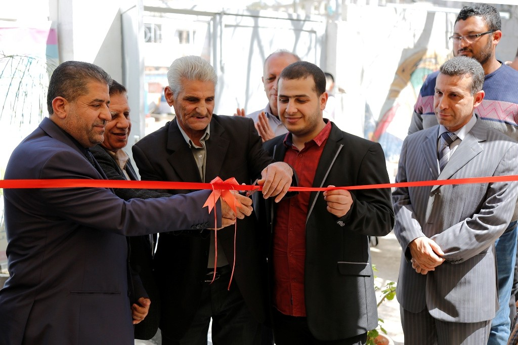بيت الصحافة يستضيف معرض الأمل الفني